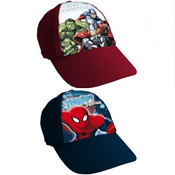 Boys Marvel Assorted Baseball Caps
