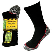 Mens Comfort Bamboo Sole Work Socks Carton Price