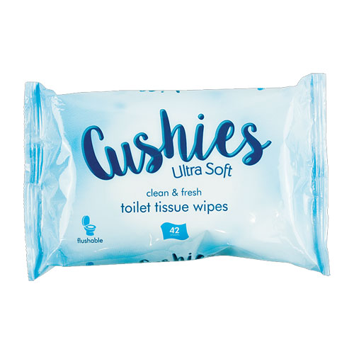 Cushies Classic Toilet Tissue Wipes