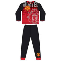 Official Boys Older Manchester United Emblem Pyjamas