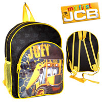 Official Joey JCB Nursery Backpack With Pocket Black