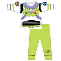 Official Boys Buzz Lightyear Novelty Pyjamas