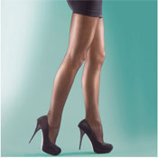 Shine Tights Sandal toe and gusset