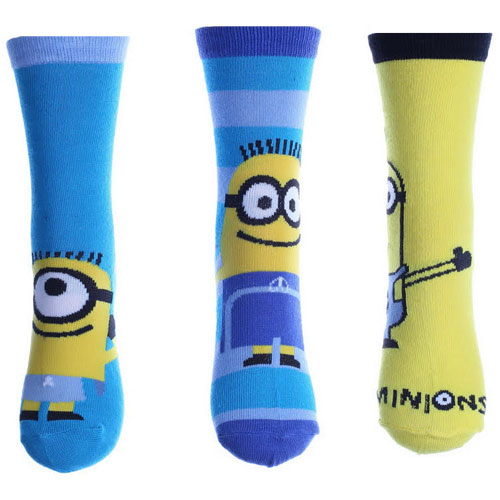 Boys Minions Despicable Me Design Character Socks
