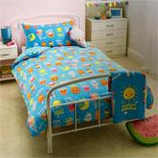 Sunshine Smiles Single Bed Duvet Set
