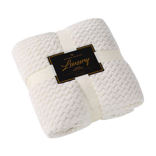 Luxury Throw Wave Cream