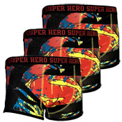 Mens Hipster Boxer Superman