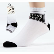 Mens Trainer Socks with Logo