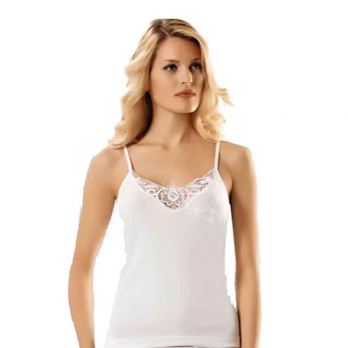 Ladies Cotton Vests White
