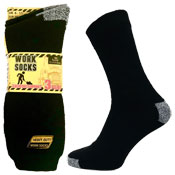 Mens Work Socks With Arch Foot Support