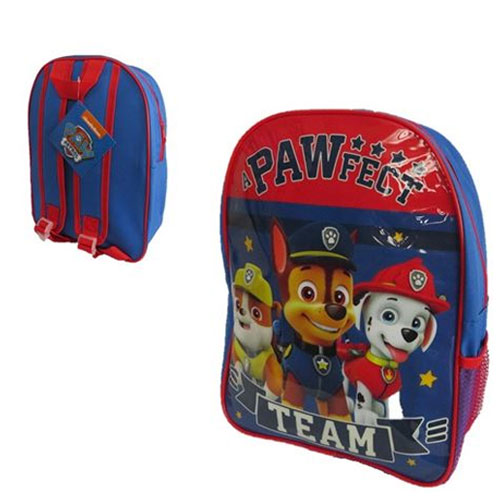Official Paw Patrol Glossy Backpack