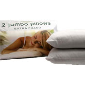 Extra Filled Jumbo Pillows With Hollow Fibre Fillings