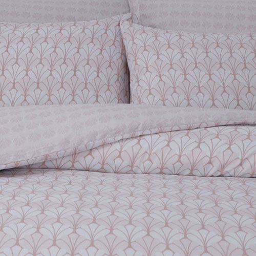Scallop Blush Duvet Set