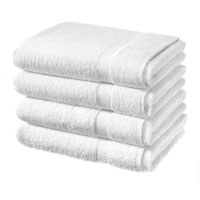 Luxury Cotton Bath Sheet White