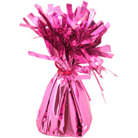 Balloon Foil Table Weight Pink