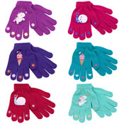 Girls Gripper Magic Gloves