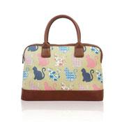 Kitty Design Handheld Handbag Beige