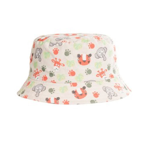 Boys Animal Print Bush Hat