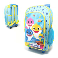 Official Baby Shark Deluxe Trolley Backpack