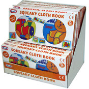 Squeaky Cloth Book