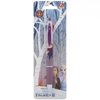 Official Frozen 2 4 Colour Pen On Card