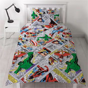 Childrens Marvel Comics Reversible Duvet Set
