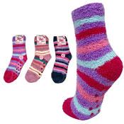 Girls Cosy Fleece Thermal Socks