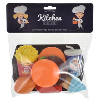 10 Piece Food Play Set
