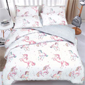 Unicorn Reversible Duvet Set