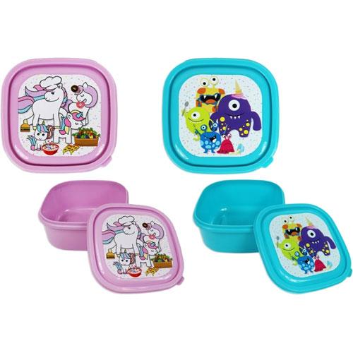 Unicorns/Monsters Design Kids Lunch Box