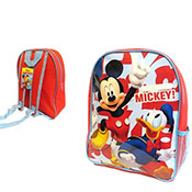 Official Disney Mickey Mouse Backpack Mesh Pocket
