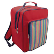 Insulated Cooler Bag Backpack XL Red
