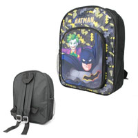 Official Batman Black Deluxe Backpack