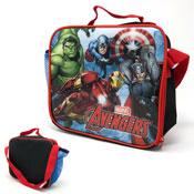 Official Marvel Avengers Lunchbag With Shoulder Strap