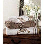 Egyptian Cotton Belvoir Bath Towels Brown