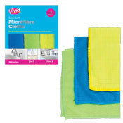 Microfibre Cleaning Cloths 3 Packs