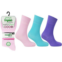 Ladies Wellness Organic Cotton Socks Toronto