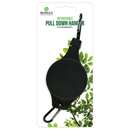 Retractable Pull Down Flower Basket Hanger