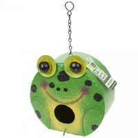 Frog Design Garden Birdhouse