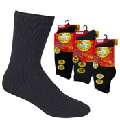 Mens Extreme Thermal Socks Big Foot Assorted 2.45 TOG