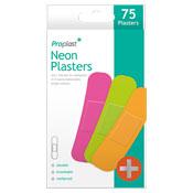 Neon Plasters 75 Pack