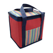 Large Insulated Cooler Bag Red