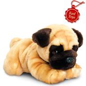 Large Cuddly Pug Keel Toys