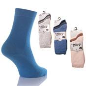 4-6 Cotton Lycra Socks