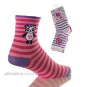 Girls Novelty Computer Socks