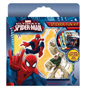 Ultimate Spiderman Sticker Fun Kit