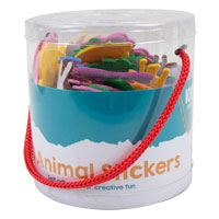 Tub of 3D Craft Stickers