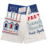 Catch Of The Day Tea Towels 3 Pack