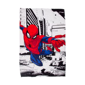 Official Spiderman Metropolis Character Fleece Blanket Throw