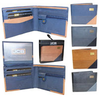 JCB Leather Wallet Assorted